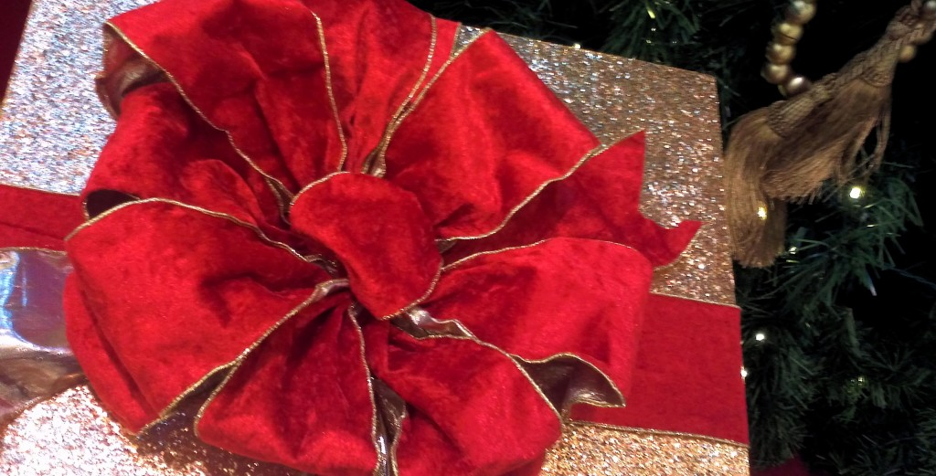 Red Bow on a gift